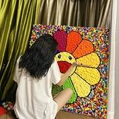 成人減壓解壓的秘密花園治愈系立體拼圖手工牆畫壁畫裝飾自制解悶 初色家居館