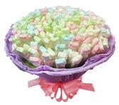 娃娃屋樂園~簡單愛。熊.花棉花糖150支 每束1450元/喜糖盒.創意喜糖/婚禮小物/送客糖果喜糖