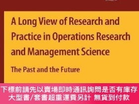 二手書博民逛書店A罕見Long View Of Research And Practice In Operations Resea