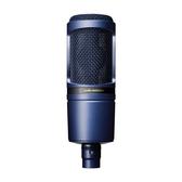鐵三角 電容麥克風 AT2020TYO 藍色限定款 心形指向性電容型麥克風 Audio-Technical Global