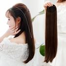 假髮片女長髮兩側增厚髮量墊髮根蓬鬆接髮無痕小片一片式頭頂補髮 維多原創