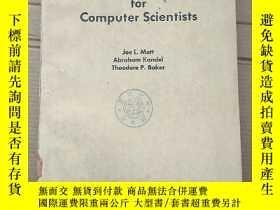 二手書博民逛書店discrete罕見mathematics for computer scientists(P2062)Y17
