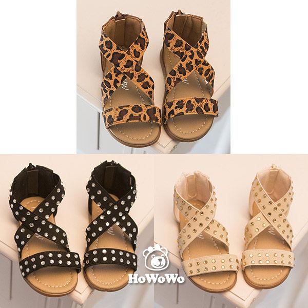 涼鞋 女童鬆緊帶涼鞋 公主鞋(15.5-18公分) KL13 好娃娃