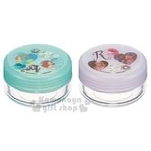 〔小禮堂〕迪士尼 公主 日製乳液盒組《2入.綠紫.愛心》空罐.旅行用 4973307-38003