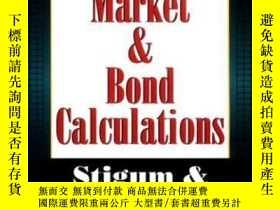 二手書博民逛書店Fixed罕見Income CalculationsY364682 Marcia L. Stigum Irwi