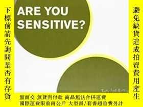 二手書博民逛書店Are罕見You Sensitive? (Firenze, Museo Marino Marini 7-29 Ap