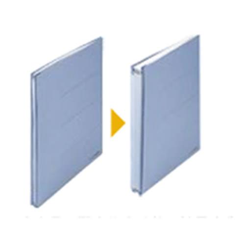 【PLUS 普樂士】 Zero-Max 89-368 (藍色)背幅伸縮檔案夾/資料夾/文件夾(5個/入)