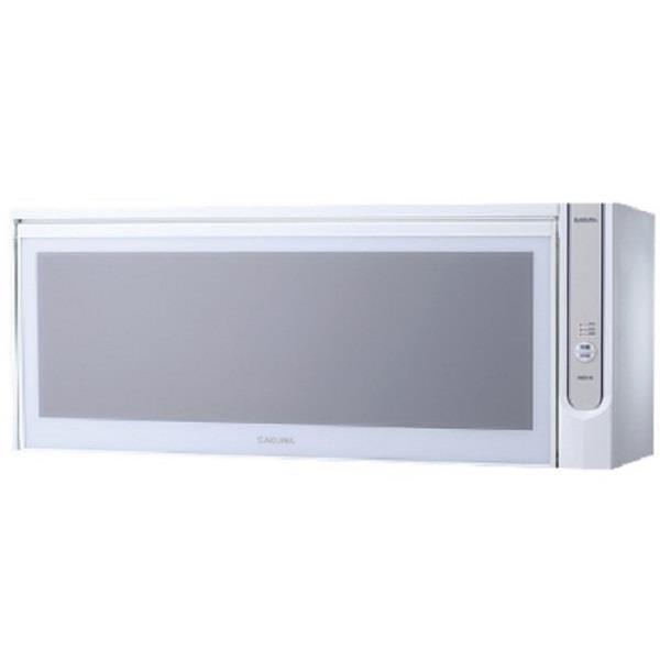 【南紡購物中心】櫻花【Q-7565AWL】懸掛式臭氧殺菌烘碗機80cm烘碗機白色