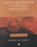 二手書博民逛書店《Contemporary Strategy Analysis: Concepts, Techniques, Applications》 R2Y ISBN:0631231366