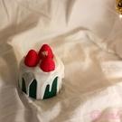 ins草莓漿果甜品香薰蠟燭節日生日禮物情人節閨蜜女友
