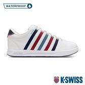 K-SWISS Court Pro S WP 防水時尚運動鞋-女-白/藍/紅