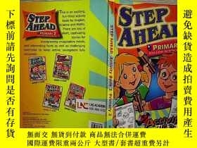二手書博民逛書店STEP罕見AHEAD PRIMARY 2 (12)Y20300