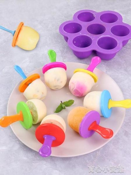 製冰模具 冰棒磨具插木棒雪糕模具家用做冰棍 育心館