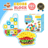 CROSS BLOCK 心心積木 WOOHOO - 102pcs
