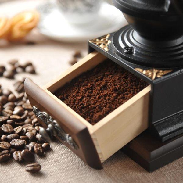 手搖磨豆機 家用 咖啡豆研磨機 復古