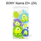 迪士尼透明軟殼 [人物] 大眼仔 SONY Xperia Z3+ /  Z3 Plus (Z4)【Disney正版授權】