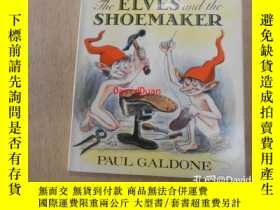 二手書博民逛書店The罕見Elves and the Shoemaker (Paul Galdone ) 洋書繪本英語Y443