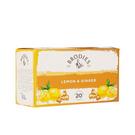 金時代書香咖啡 Brodies 蘇格蘭茶 風味茶包 檸檬香薑 Lemon & Ginger