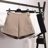 春夏裝女士褲子高腰百搭休閒褲顯瘦闊腿a字西裝短褲外穿熱褲 熊貓本