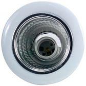 10.5CM開放型E27直插崁燈-白色