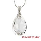 天然白水晶白鋼項鍊-精靈之舞 絢爛 石頭記
