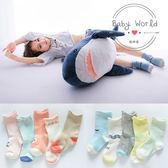 襪子 兒童 簡約 造型 鬆口襪 短襪 BW