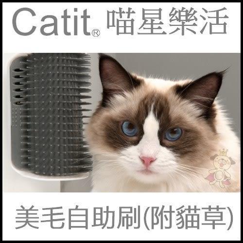*WANG*喵星樂活 CATIT2.0 美毛自助刷(附貓草)