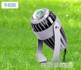 戶外燈 LED射燈車鋁燈聚光遠程射燈一束光投射燈戶外防水高亮投光燈 MKS 歐萊爾藝術館