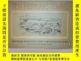 二手書博民逛書店Ten罕見Historic Towns; Heritage Ar