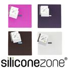【Siliconezone】施理康耐熱兩用防燙墊&防燙鍋墊-桃紅色
