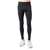 Asics 亞瑟士 [2011A867-001] 男 長褲 高彈 拼接 緊身褲 運動 慢跑 跑步 反光 黑