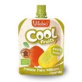 法國Vitabio 有機優鮮果-蘋果+洋梨90g