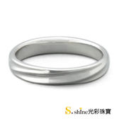 【光彩珠寶】婚戒 14K金結婚戒指 男戒 愛閃耀