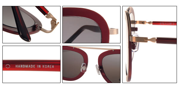 STEALER 太陽眼鏡 KARMA C12 (紅-金) 現代時尚飛行款 # 金橘眼鏡