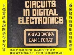 二手書博民逛書店integrated罕見circuits in digital