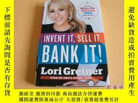 二手書博民逛書店英文原版Invent罕見It, Sell It, Bank It!: Make Your Million-Doll