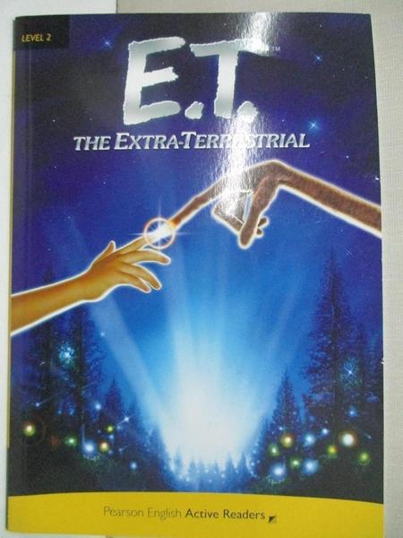 【書寶二手書T1/兒童文學_BVX】Penguin AR 2 (Ele): E.T. The Extra-Terrestrial…