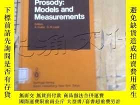 二手書博民逛書店Prosody:罕見Models and Measurement
