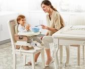 便攜式寶寶餐椅兒童餐桌椅子多功能嬰兒吃飯可折疊座椅 俏girl YTL