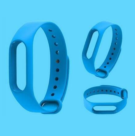 【SZ64】小米手環2二代單色腕帶防水智能運動藍牙手錶男女記步器定制替換錶帶