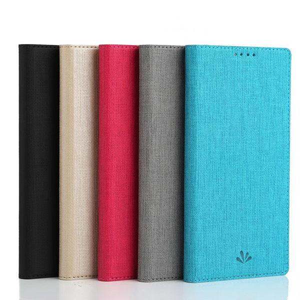 ViLi DMX ASUS Zenfone Max Plus(M1)ZB570TL簡約時尚側翻手機保護皮套 隱藏磁扣支架插卡手機套軟殼全包防摔