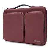 【美國代購】Tomtoc 360° 手提款防摔保護 Laptop Sleeve Case for MacBook/Surface Pro/NB/Tablet-紅棕色