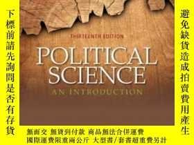 二手書博民逛書店Political罕見Science: An Introduction (13th Edition)-政治學導論(