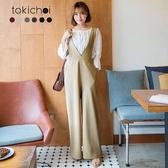 東京著衣-tokichoi-多色雜誌款高腰連身褲-S.M.L.XL.XXL(172432)