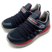 《7+1童鞋》中大童 SKECHERS 97766LNVRD  輕量 透氣 慢跑鞋 運動鞋 B986 藍色