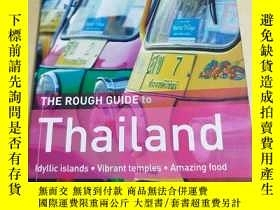 二手書博民逛書店THE罕見ROUGH GUIDE TO THAILAND 泰國的