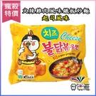 韓國三養-火辣雞肉風味鐵板炒麵 -起司風味(140g/包)x1包【合迷雅好物超級商城】