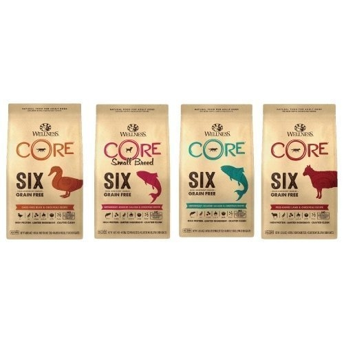 *WANG*美國WELLNESS Core SIX 無穀成犬單一蛋白(4lb=1.8kg)