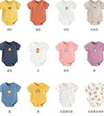 嬰兒衣服寶寶短袖連身衣