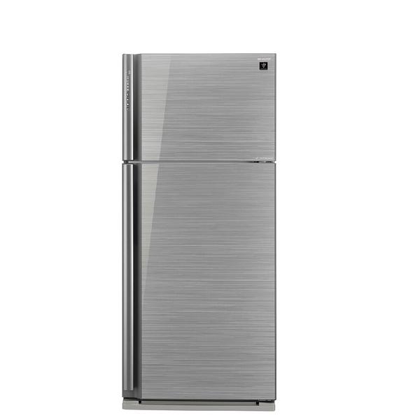 【送陶板屋餐券3張 14天後寄出】回函贈SHARP夏普583公升雙門變頻玻璃鏡面冰箱SJ-GD58V-SL